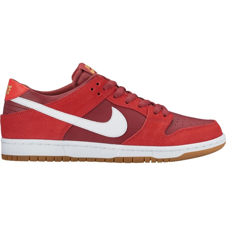 Nike SB Dunk Low Pro SB - track red Größe: 8 Farbe: TrackRed