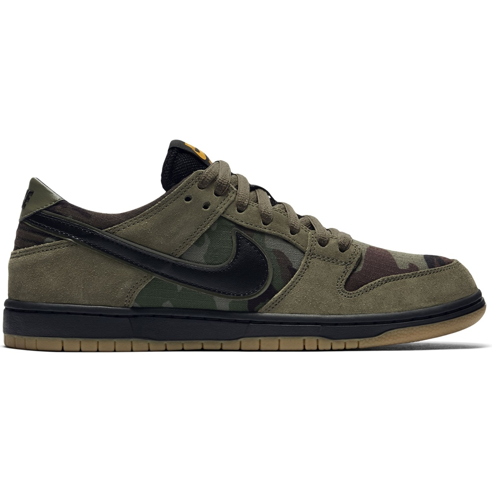 huge selection of ccb55 1e8f9 HiLight Logo black Nike SB Nike SB Dunk Low - medium olive Größe  9 Farbe   MdmOlive