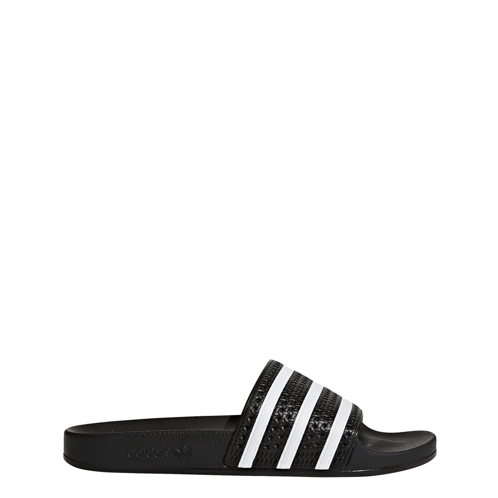 Adidas Adilette - black white black Größe: 5 Farbe: blackwhite