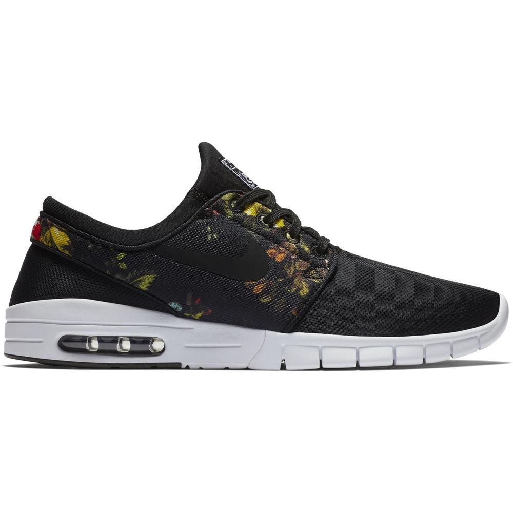 Nike SB Stefan Janoski Max - black multi Größe: 6½ Farbe: blackmulti