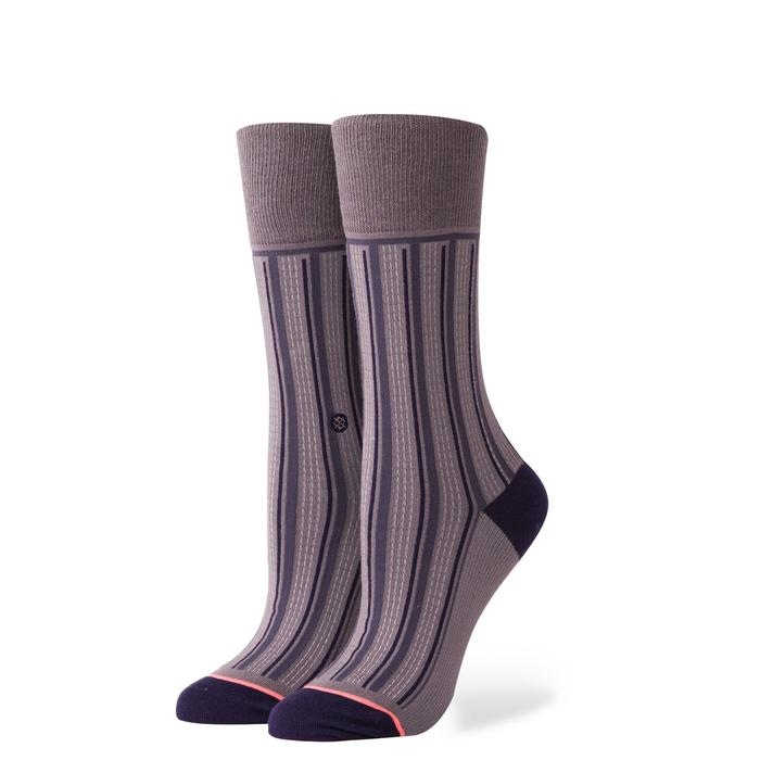 Stance Stripe Down - charcoal Größe: S Farbe: charcoal