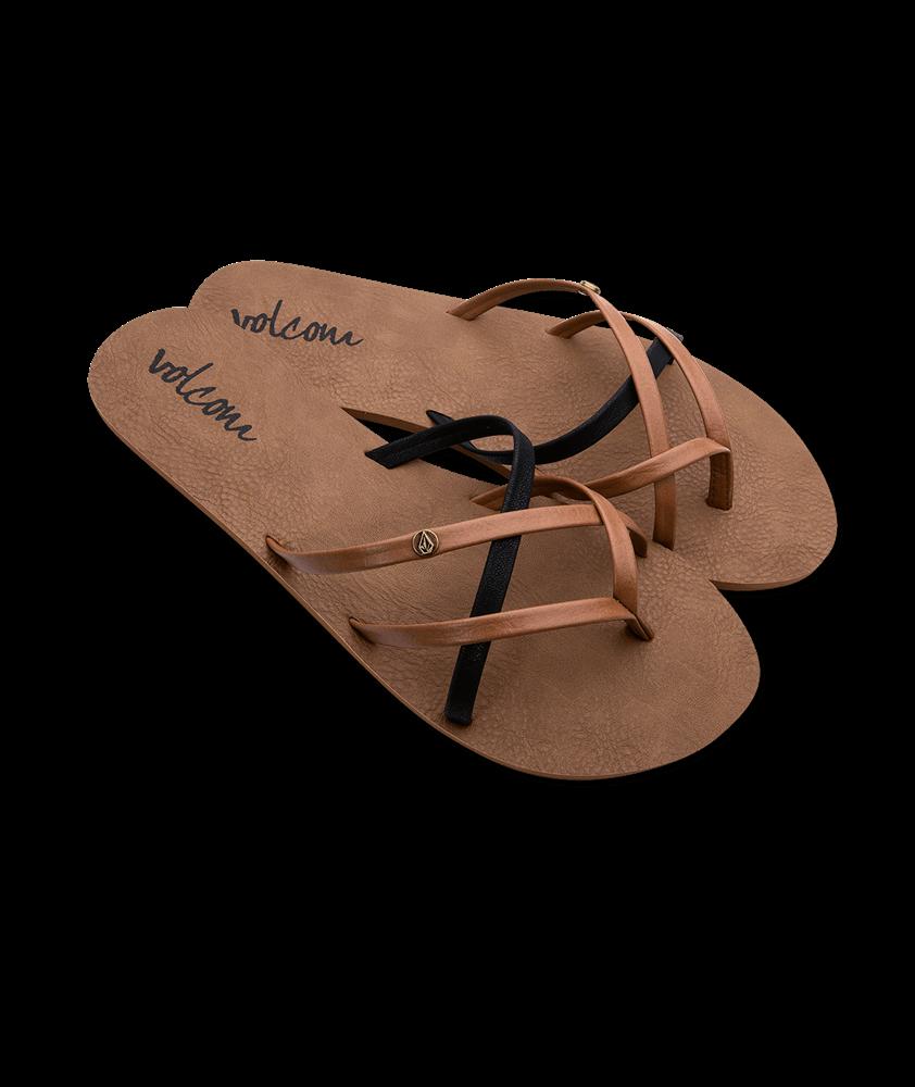 Volcom New School - brown combo Größe: 6 Farbe: browncombo