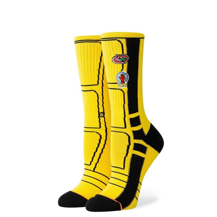 Stance Kill Bill Bride - yellow Größe: M Farbe: yellow