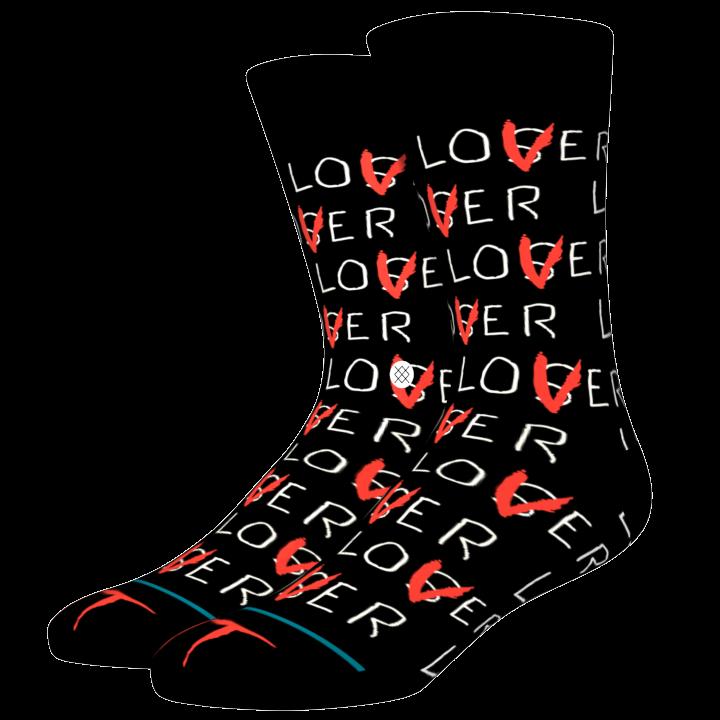 Stance Lover Loser - black Größe: M Farbe: black