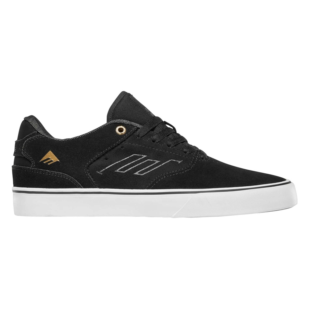 Emerica The Reynolds - black gold Größe: 11 Farbe: blackgoldw