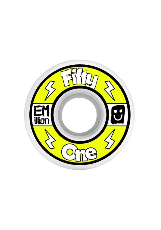 Emillion Neon Wheels - 51mm yellow Größe: 51 Farbe: Yellow