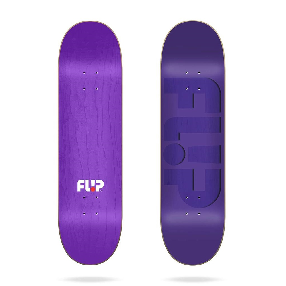 "Flip Odyssey Embossed Purple 7.75""x31.63"" Größe: 7.75"