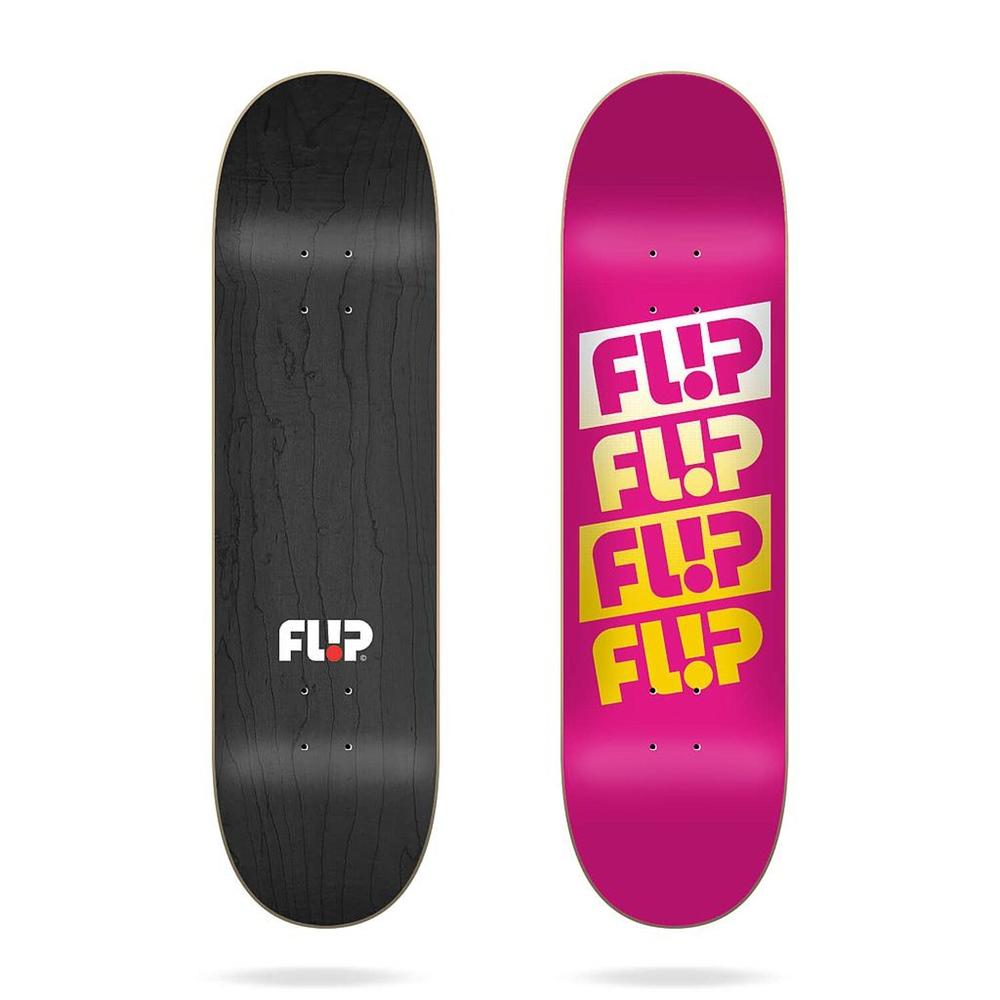 """Flip Team Quattro Faded Pink 7.88""""x32.0"""" Größe: 7.88"""