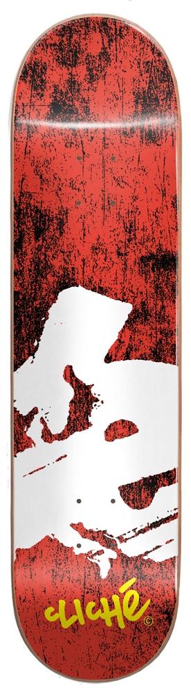 """Cliché Team Europe Red 8.0""""x31.60"""" Größe: 8.0 Rot: red"""