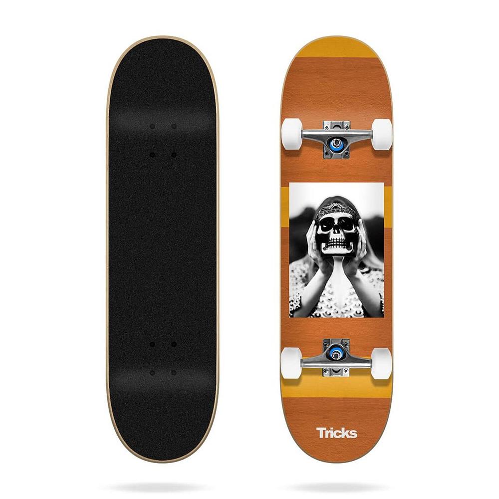 """Tricks Skateboards Hippie 8.0""""x31.85"""" Größe: 8.0"""