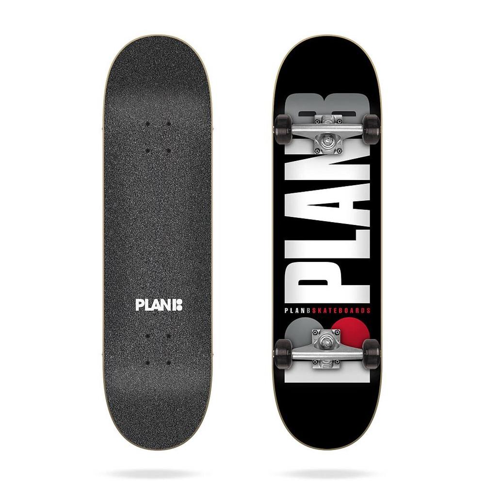 """Plan B Team Og Black 7.75""""x31.60"""" Größe: 7.75"""