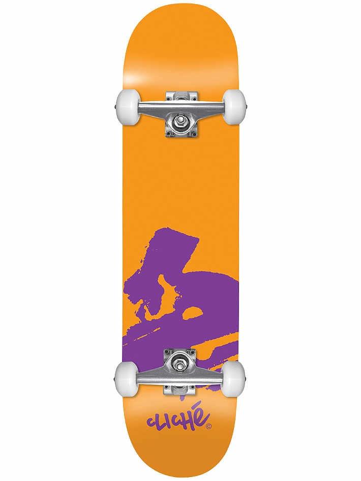 Cliché Europe Orange 7.875x31.70 Größe: 7.875 Orange: orange