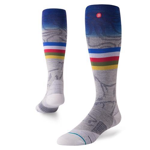 Stance mns Snowboard Socke JC grey Größe: L Farbe: grey
