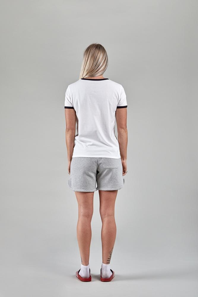 Nikita Dusk Ringer Loka - white Größe: M Farbe: white