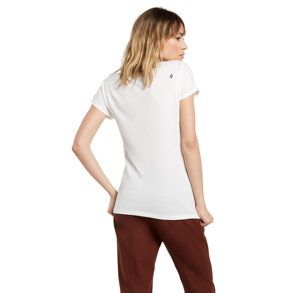 Volcom wms T-Shirt Radical Daze SWH Größe: L Weiss: starwhite