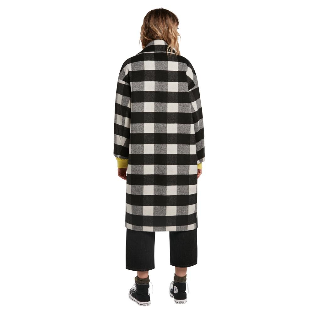 Volcom Over Coat - black Größe: S Schwarz: black