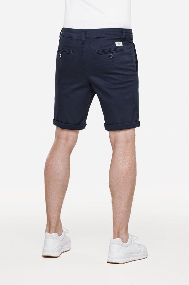 Reell Flex Grip Chino Short - navy Größe: 33 Farbe: Navy