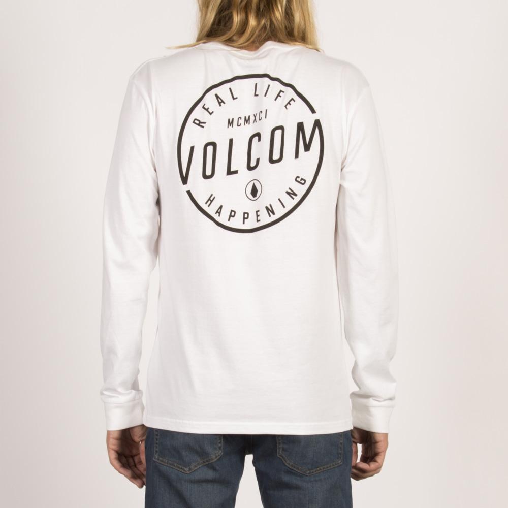 Volcom On Lock Basic - white Größe: S Farbe: WHITE