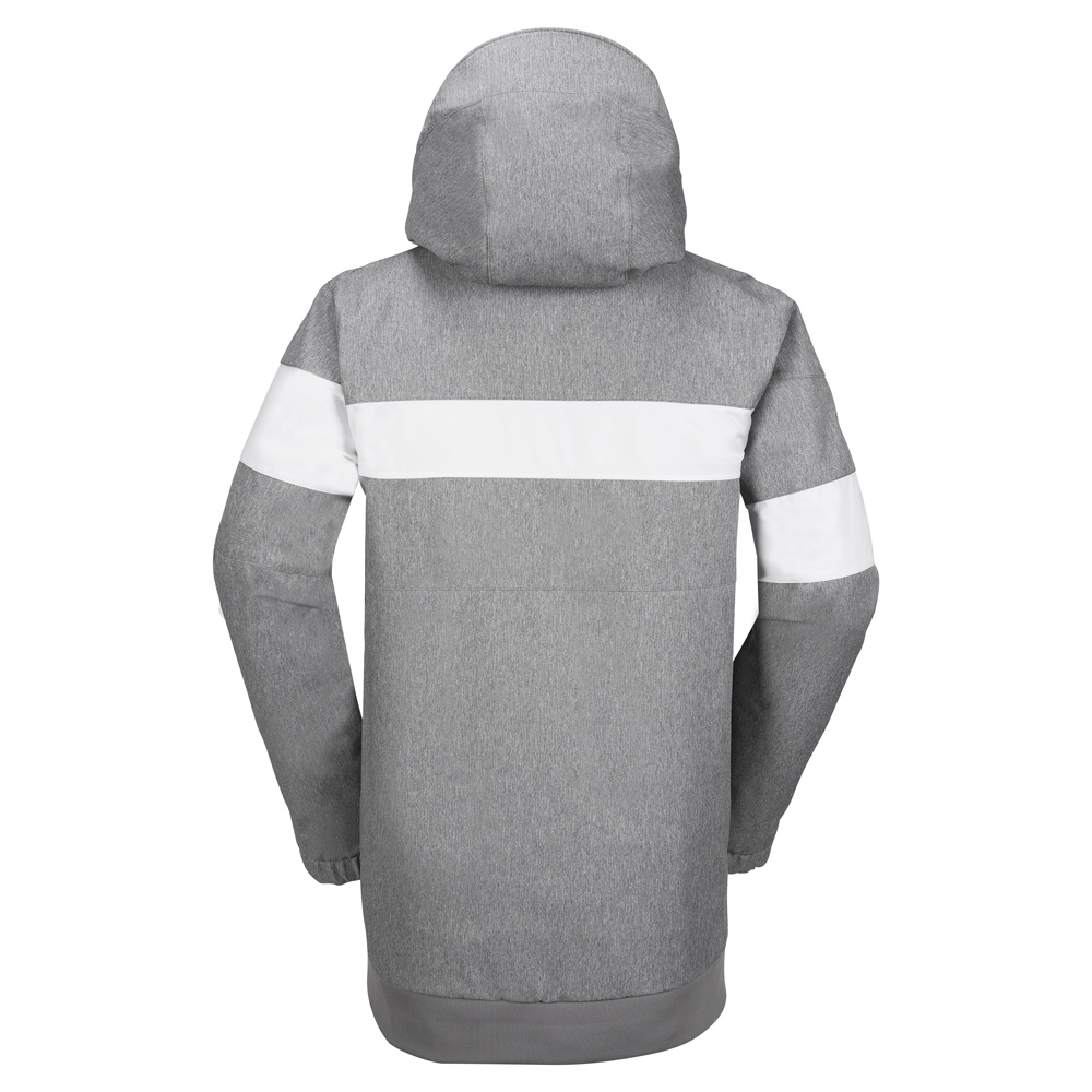Volcom Hal - heather grey Größe: L Farbe: HEATHER_GR