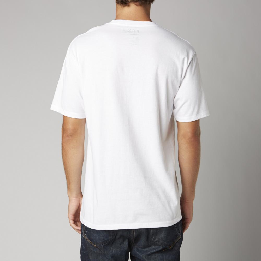 Fox Legacy Foxhead - white Größe: M Farbe: OpenWht