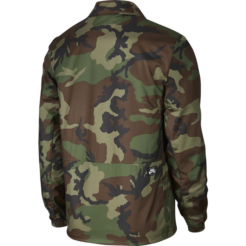 Nike SB Coaches Jacket - medium olive/black Größe: L Farbe: MdmOlv