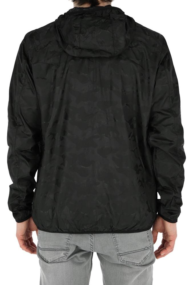 Reell Pack Logo Jacket - black camo Größe: M Farbe: blackcamo