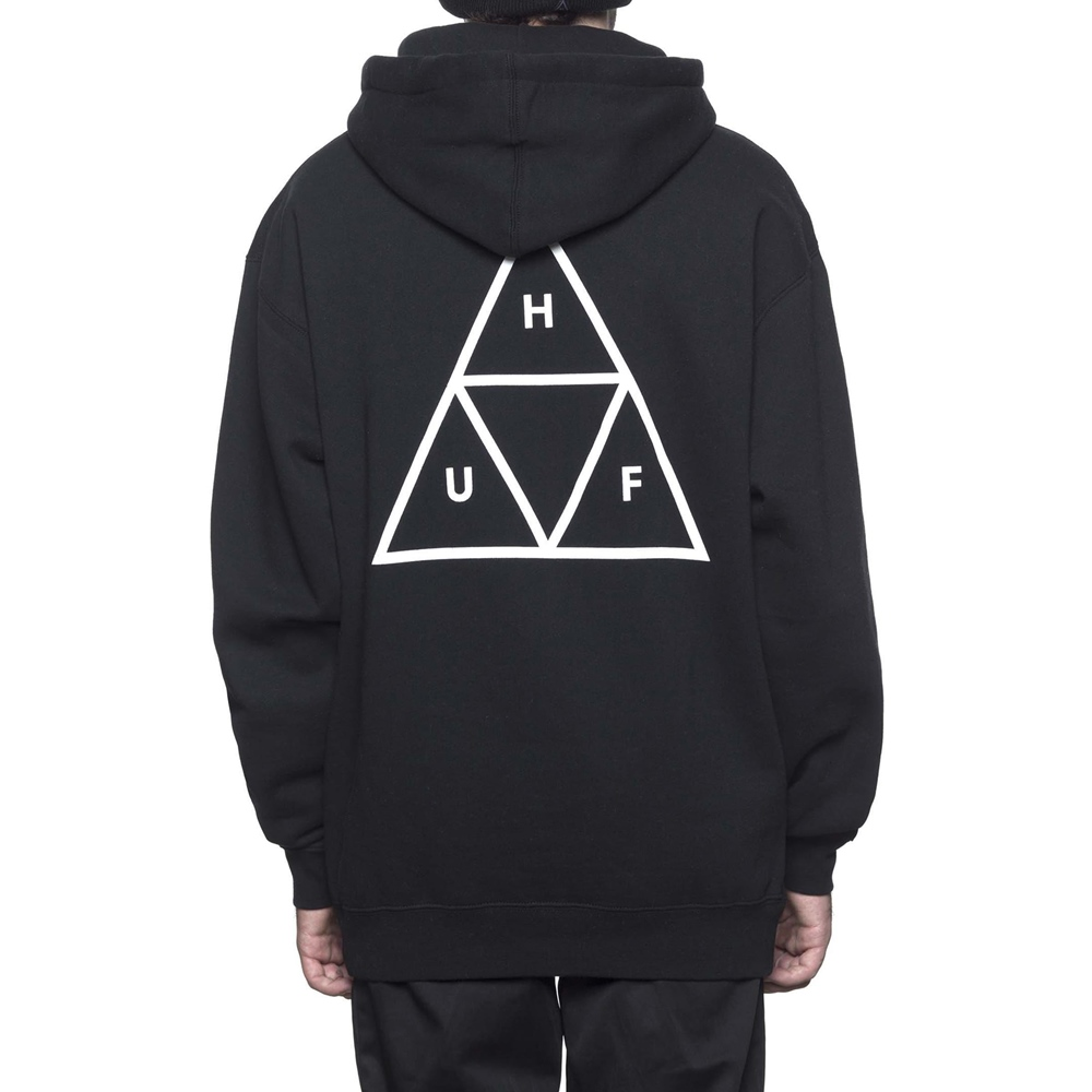 Huf Essentials Triple Triangle - black Größe: M Farbe: black