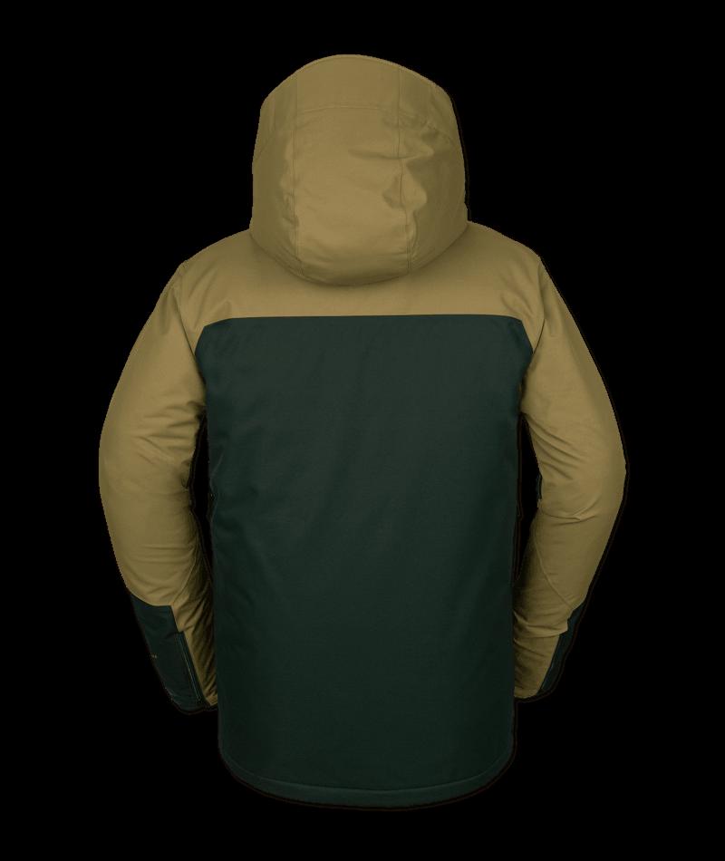 Volcom Anders 2L TDS - dark green Größe: S Farbe: darkgreen