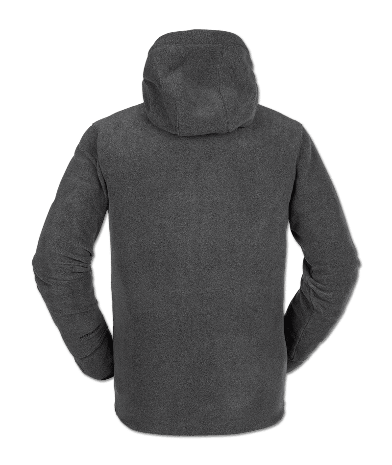 Volcom Polartec Fleece - heather grey Größe: S Farbe: heathergre