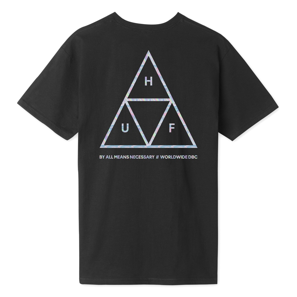 Huf Hologram - black Größe: S Farbe: black