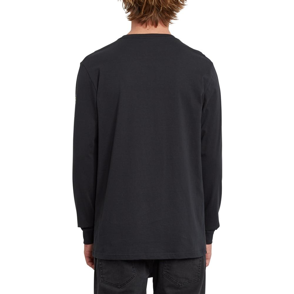 Volcom Fence - black Größe: S Farbe: black