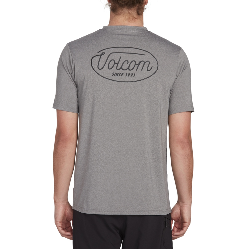 Volcom Lit S/S - grey Größe: S Farbe: grey