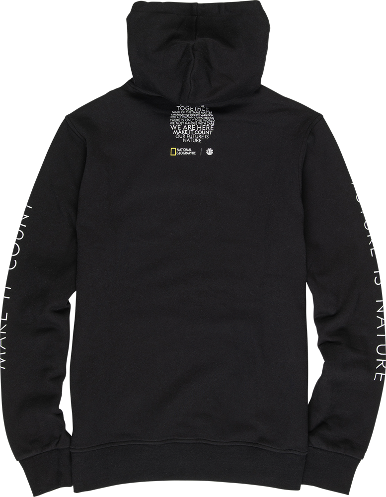 Element Sun Fleece - flint black Größe: S Schwarz: flintblack
