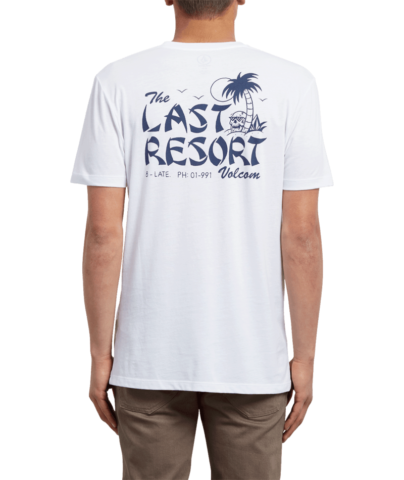 Volcom Last Resort - white Größe: S Farbe: white