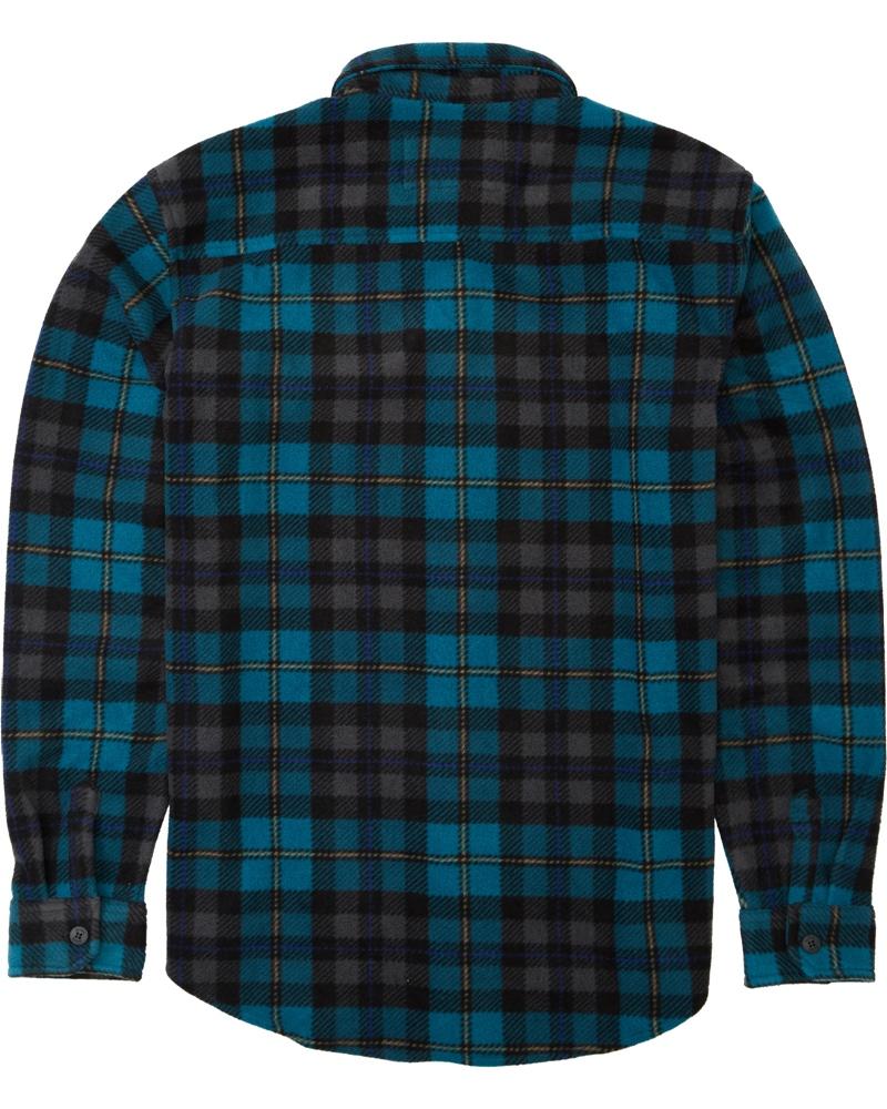 Billabong Furnace Flannel - pacific Größe: S Blau: pacific