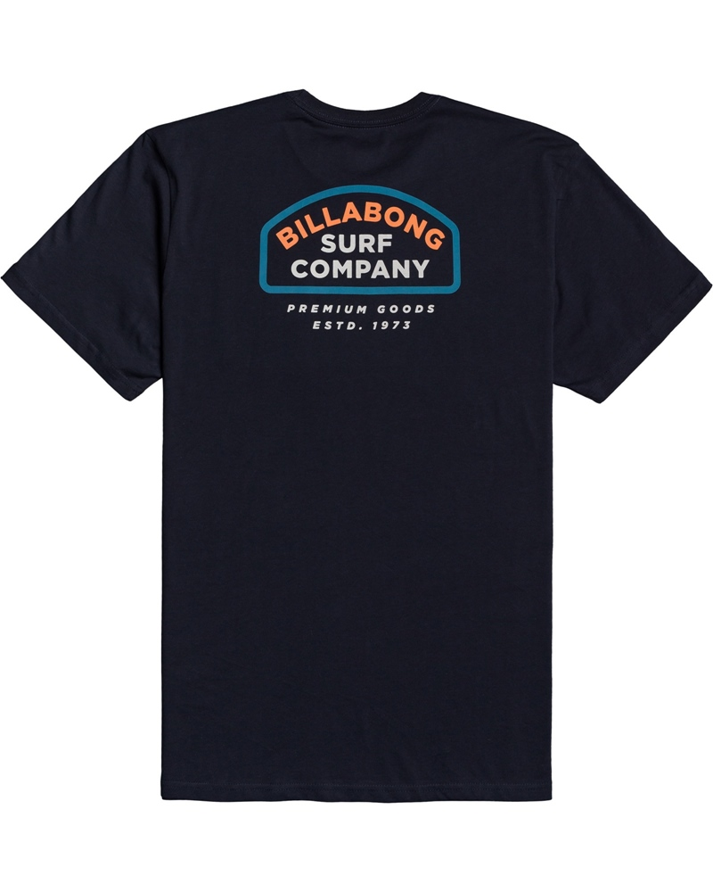 Billabong mns T-Shirt Double Ware navy Größe: S Blau: navy