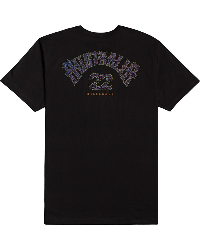 Billabong mns T-Shirt Dreamy Places black Größe: S Schwarz: black