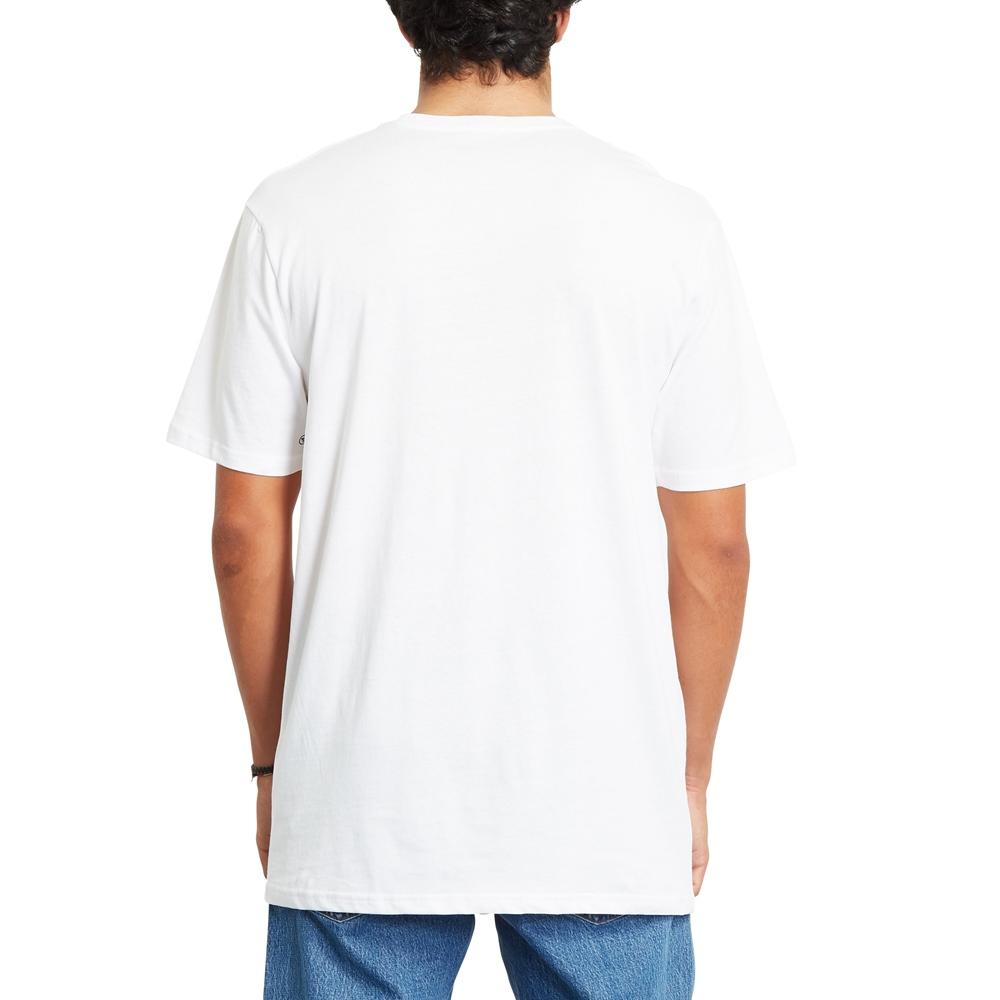 Volcom Stone Blanks BSC - white Größe: S Farbe: white