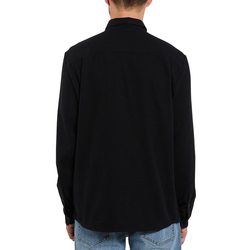 Volcom Caden Solid - black Größe: S Schwarz: black