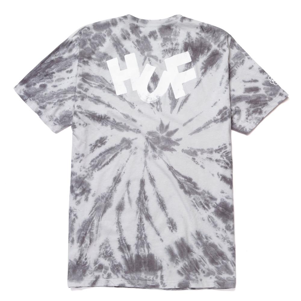 Huf Haze Brush Tie Dye - black Größe: XL Farbe: black