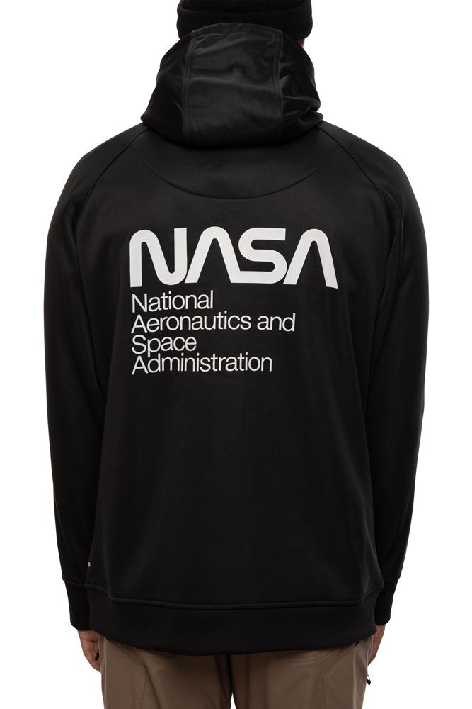 686 Fleece Hoody - nasa exploration Größe: S Farbe: nasaexplor