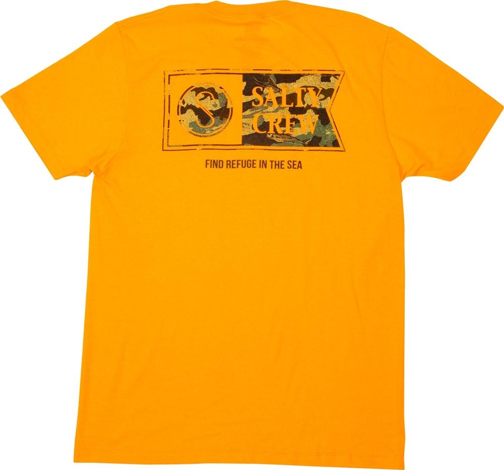 Salty Crew Alpha Decoy Standard - orange Größe: S Orange: orange