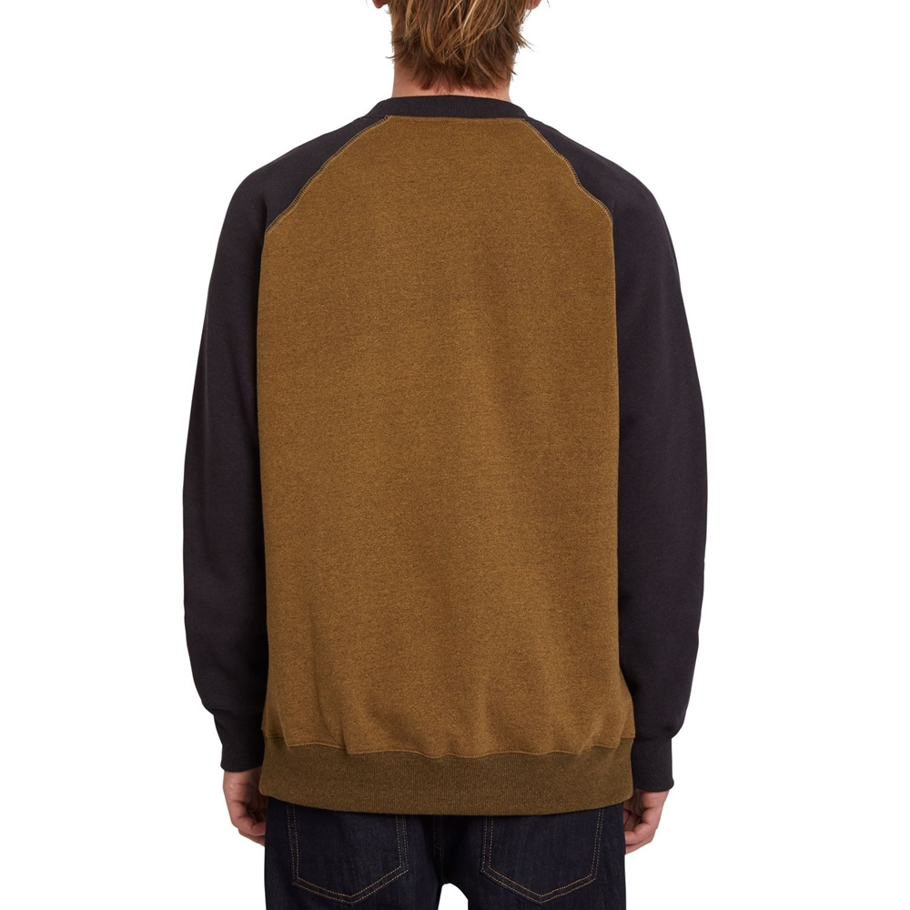 Volcom Homak - golden brown Größe: S Braun: goldenbrow