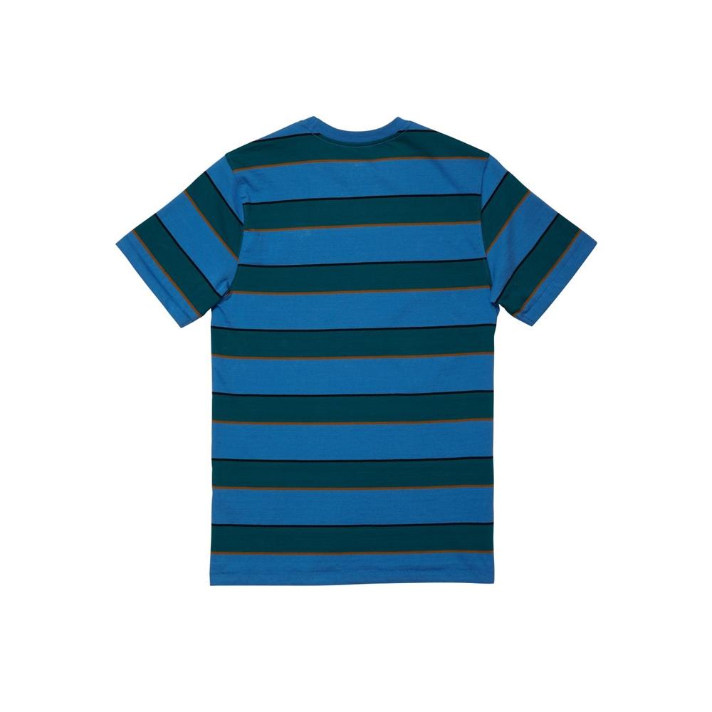 Volcom Keates Stripe - ballpoint blue Größe: 140_L Blau: ballpointb