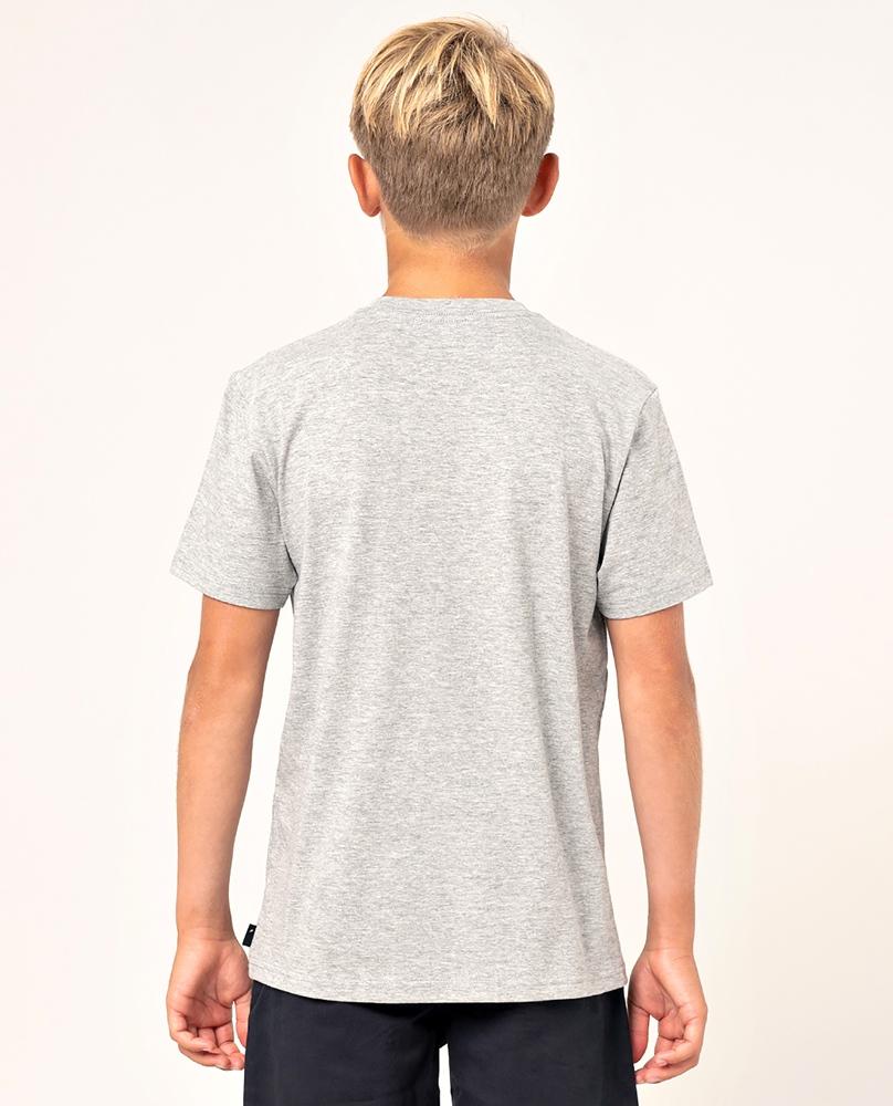 Rip Curl Whats In My Pocket - grey marled Größe: 116_S Grau: greymarle