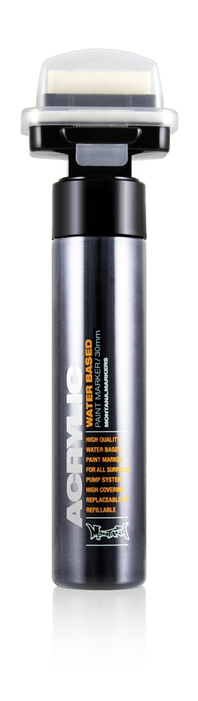 Montana Marker ACRYLIC 30mm Shock Black Farbe: Sh9000Blac