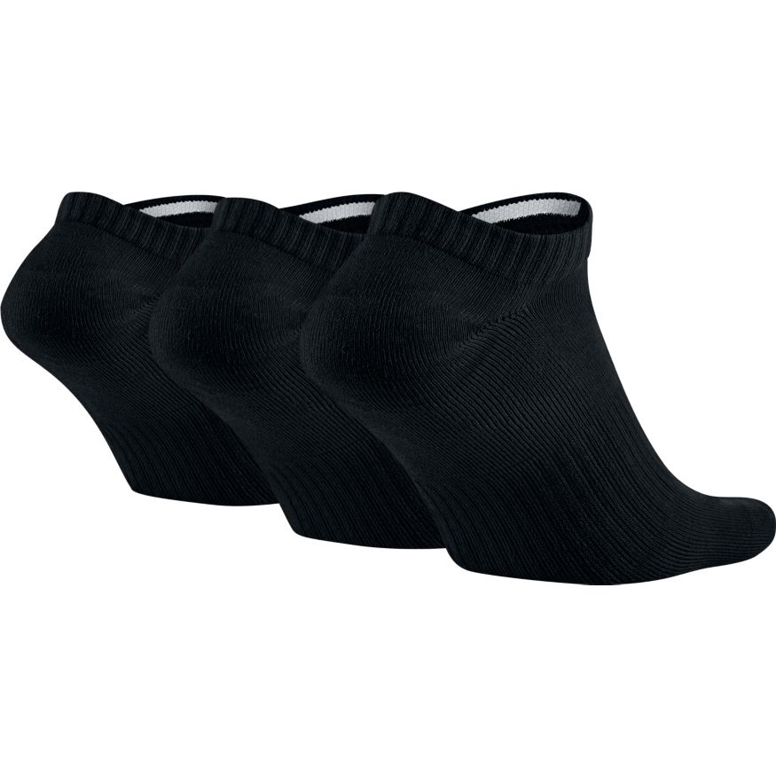 Nike SB No Show Socks (3er Pack) - black Größe: L Farbe: BlkWht