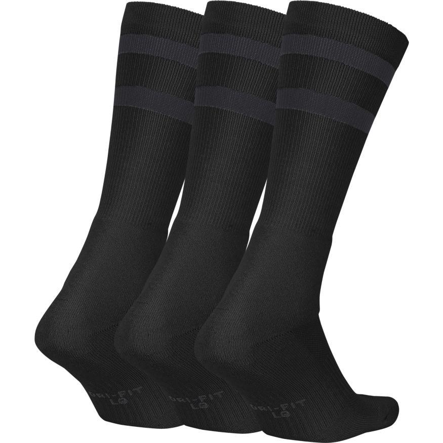Nike SB Crew Socks (3 Pair) - black Größe: M Farbe: BlkAntrac