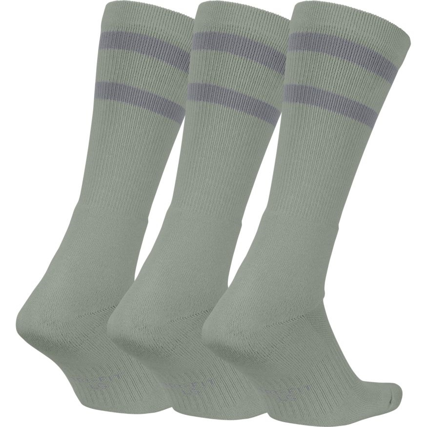 Nike SB Crew Socks (3Pair) - grey Größe: M Farbe: DkGreyHth