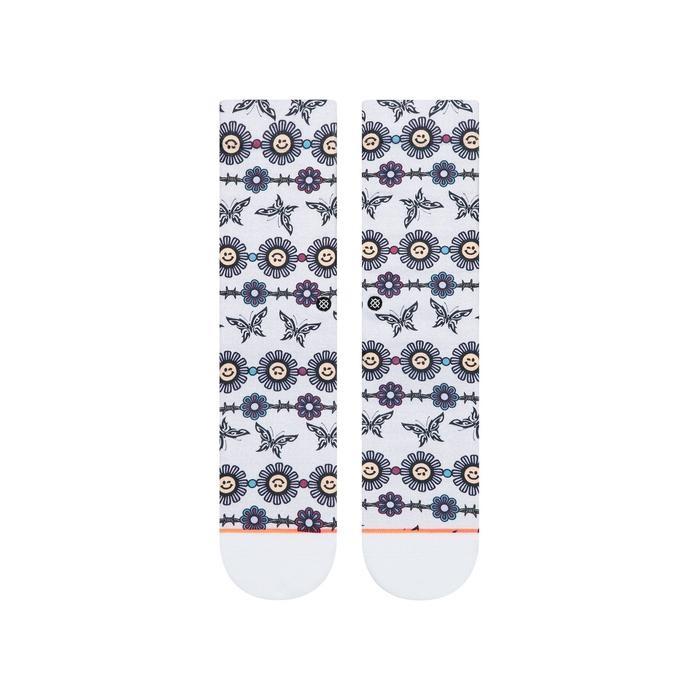 Stance Daisy Chain - grey heather Größe: M Farbe: greyheathe